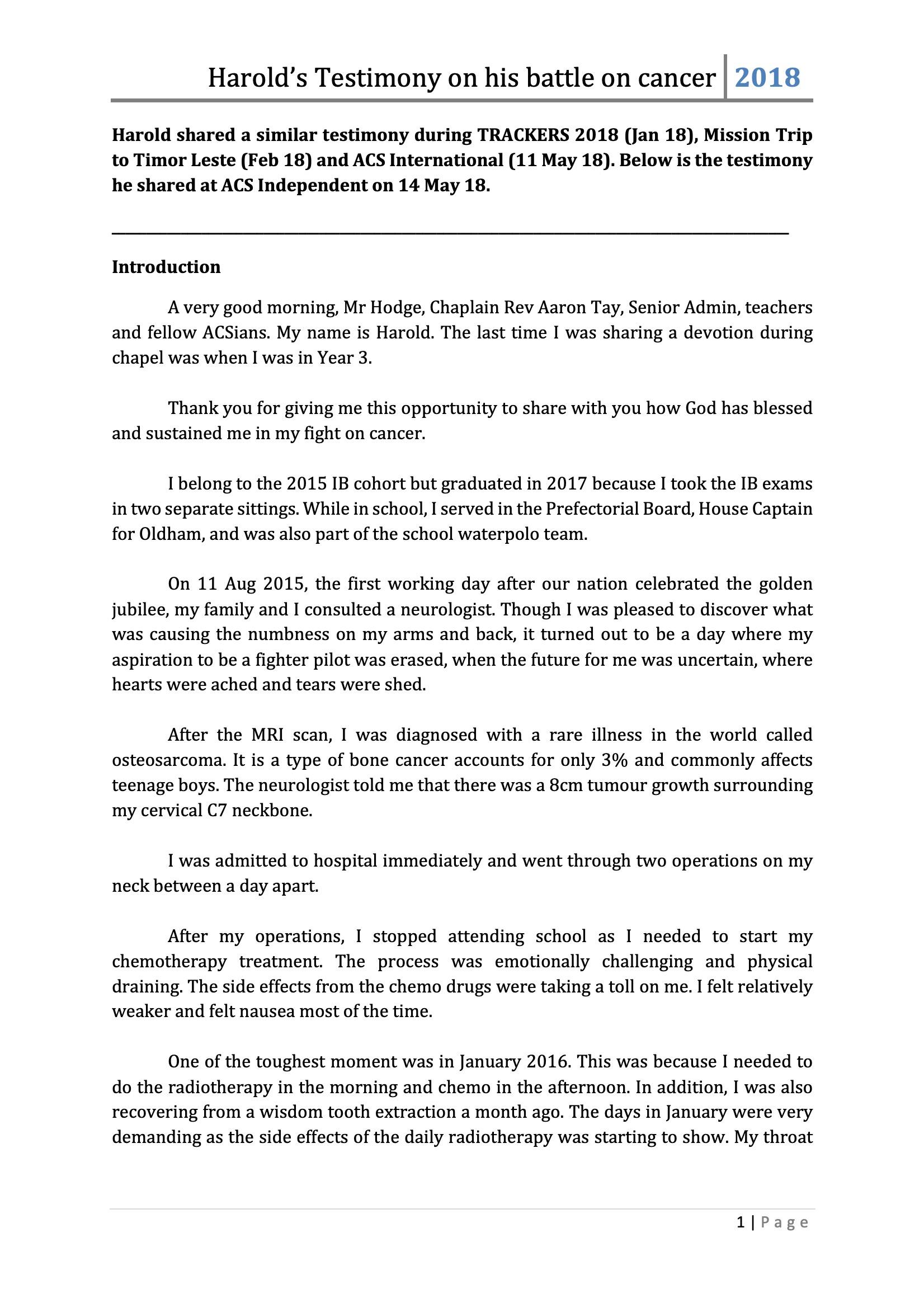 Battling sarcoma_Harold_testimony-1